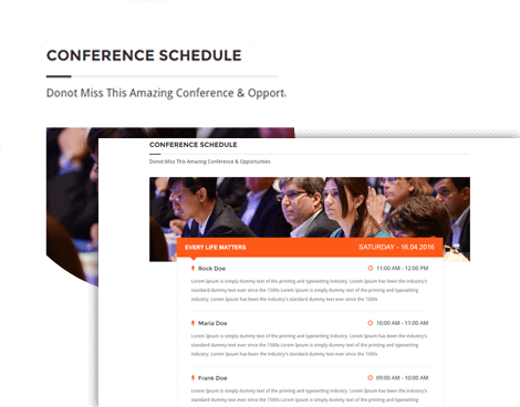 Conference Schedule Management