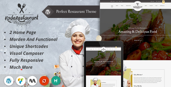 food court wordpress theme