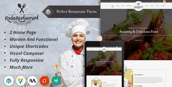 food court wordpress theme