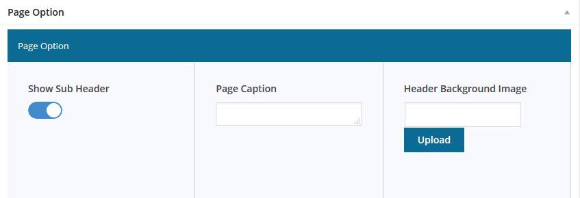 sub-header-setting